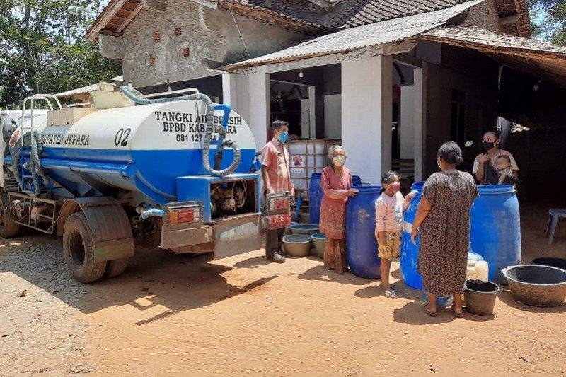 Dua desa di Jepara kesulitan air bersih