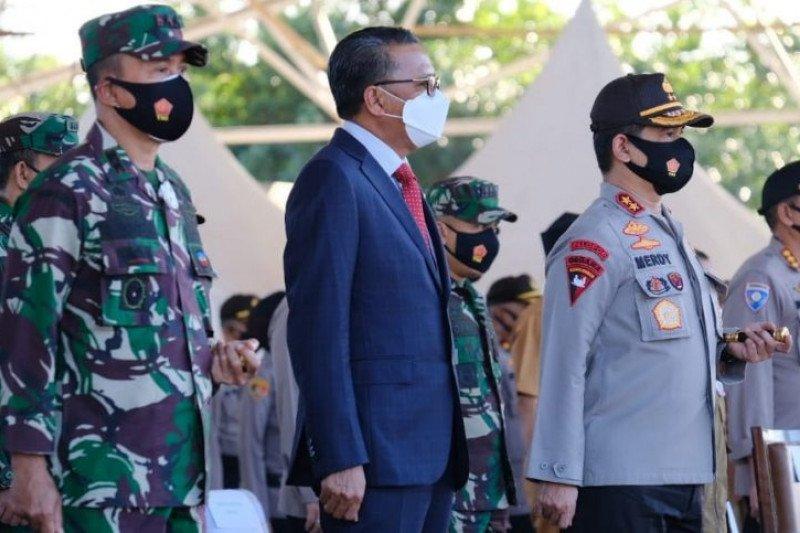 Gubernur, Pangdam dan Kapolda Sulsel kompak masifkan Gerakan Trisula