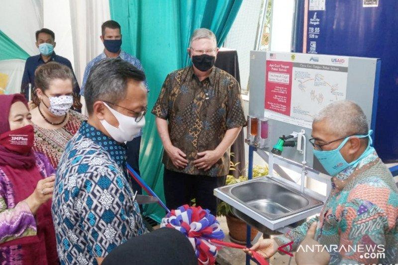 Pemkab Bogor terima bantuan 20 alat cuci tangan dari Amerika Serikat