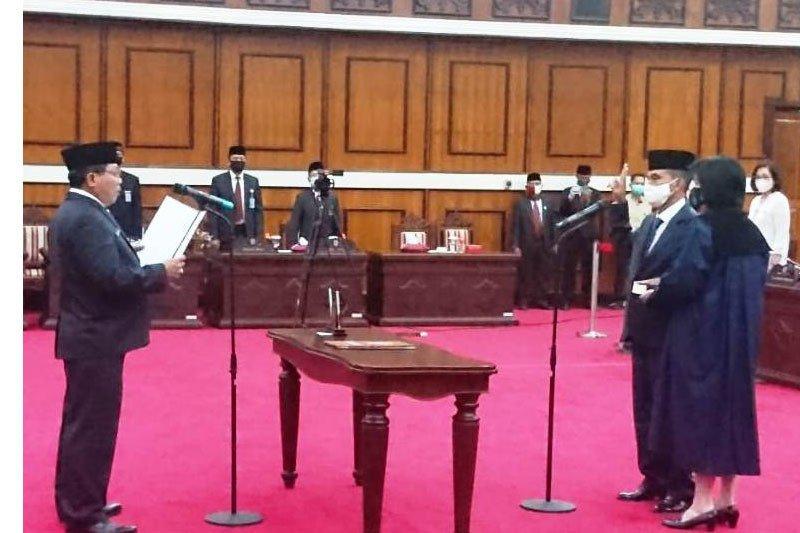 Wilin C Akomoto gantikan Sarwani jadi Anggota DPRD Kalteng