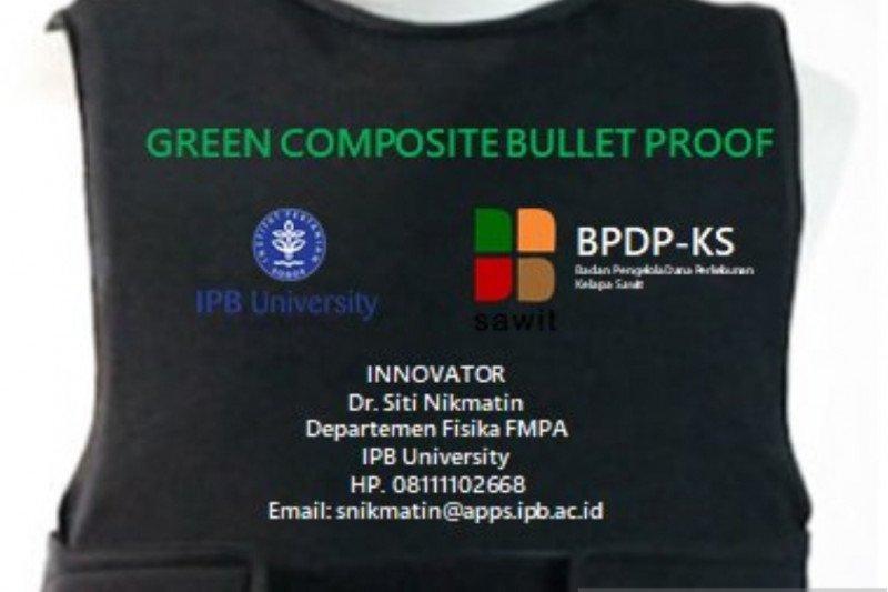 Dosen IPB ciptakan baju antipeluru dari limbah sawit