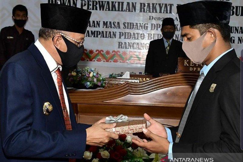 Hamid Rizal Sampaikan Pidato Pengantar Nota Keuangan APBD Natuna 2021