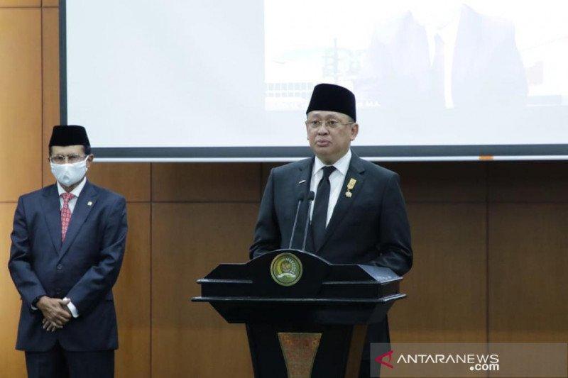 Ketua MPR Bamsoet lantik dua anggota MPR PAW