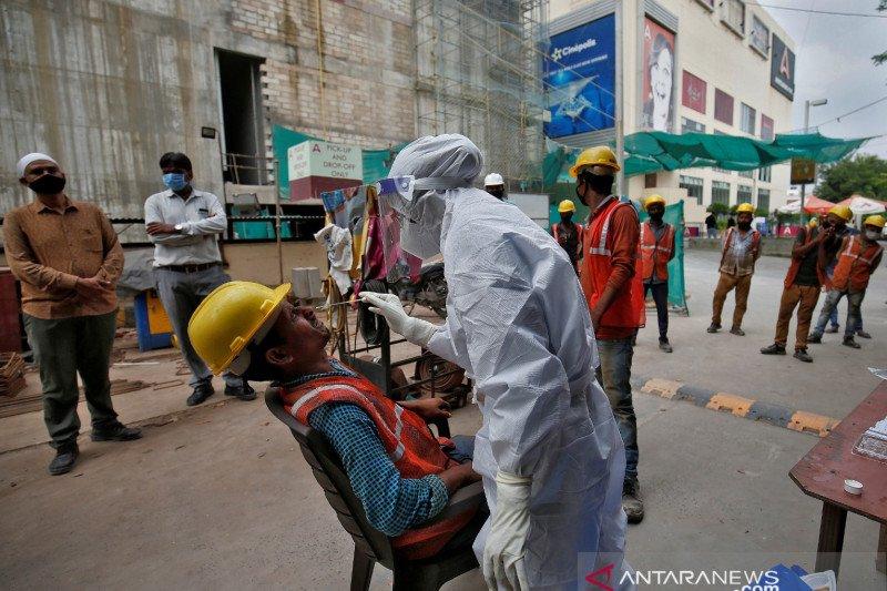 Kasus COVID-19 di India capai 4,85 juta