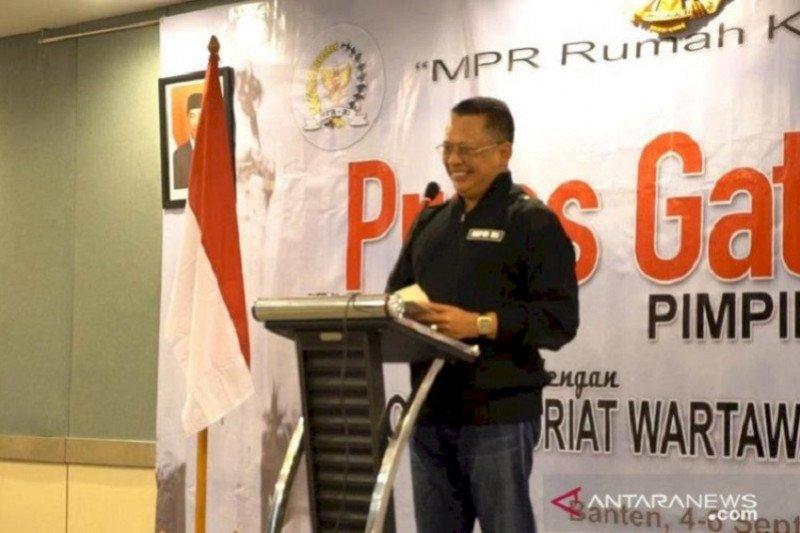 Ketua MPR dorong buat regulasi tegas cegah mobilisasi massa pilkada