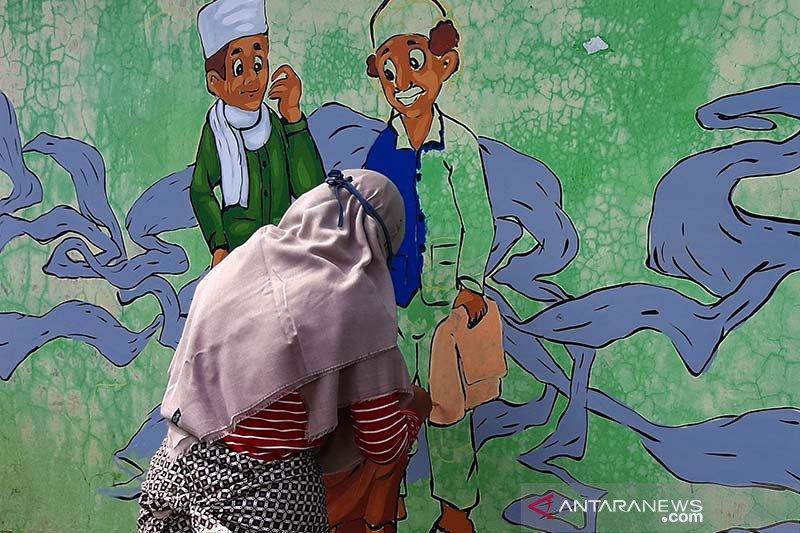 Membangun jiwa seni melalui Desa Kartun di Purbalingga