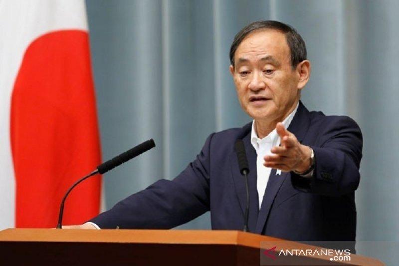 Yoshihide Suga resmi menjadi PM Jepang