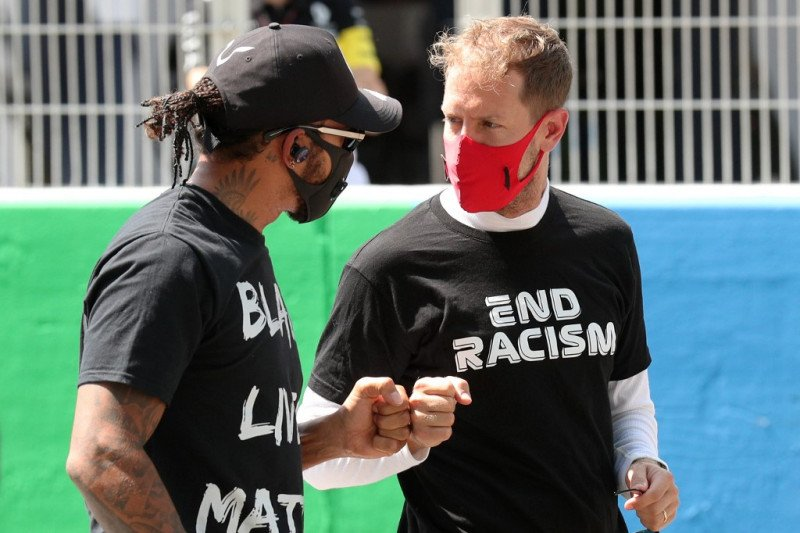 F1 masih butuh Sebastian Vettel, kata Hamilton