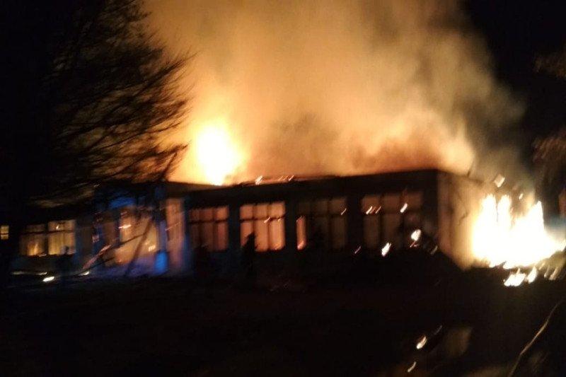 Gedung LPTQ Kalteng terbakar diduga akibat korsleting