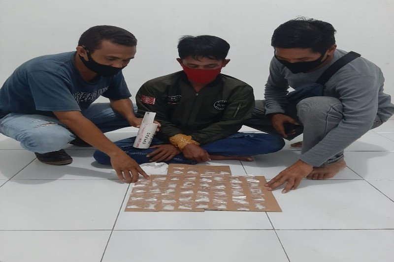 Polda Papua tangkap pengedar 49 paket narkoba di Timika