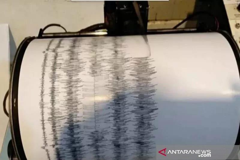 Gempa  bermagnitudo 3,4 terjadi di Donggala dan Palu Sulteng