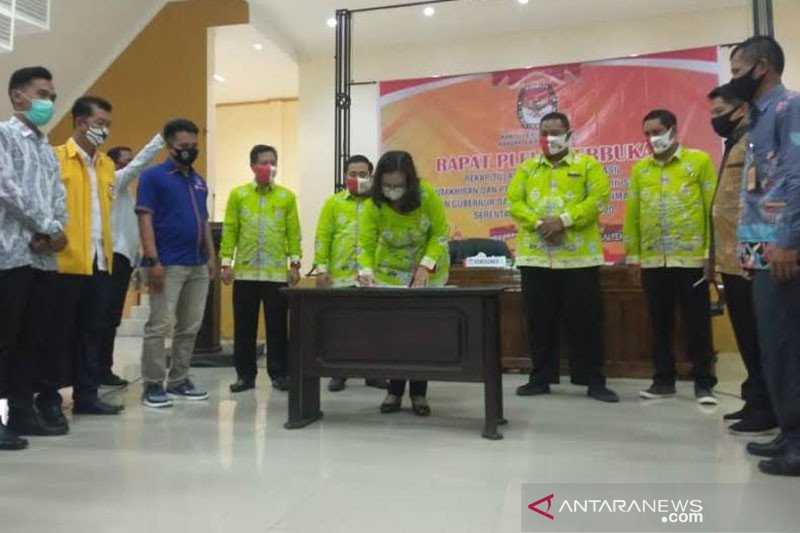 KPU tetapkan DPS Pulang Pisau berjumlah 94.418 orang