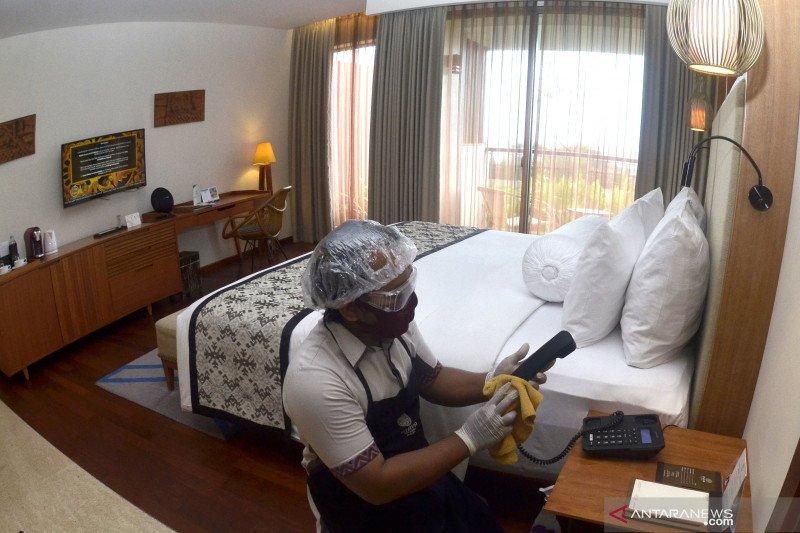 Jaminan kebersihan membuat jumlah tamu hotel meningkat