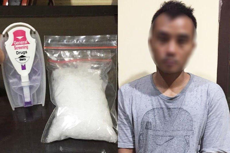 Miliki sabu 100,66 gram, seorang pemuda di Palangka Raya ditangkap polisi