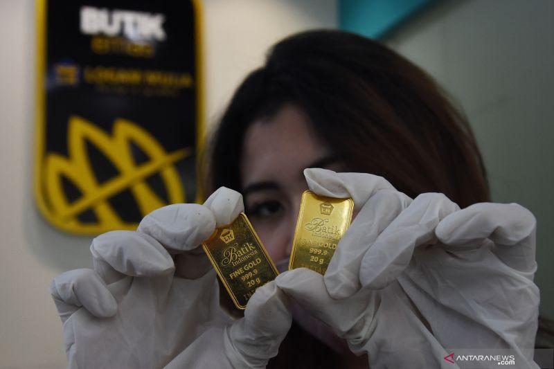 Kemarin, harga emas jatuh hingga pembangunan food estate segera dimulai