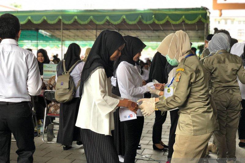 Peserta SKB CPNS Yogyakarta dari luar DIY wajib melakukan rapid test