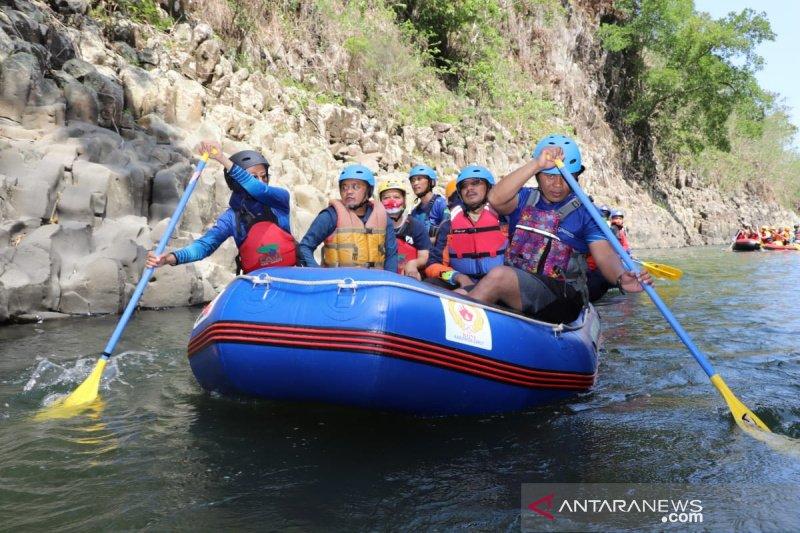 Pemkab Garut siap benahi infrastruktur wisata air Leuwi Dalem