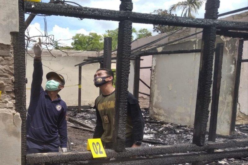 Tim Labfor selidiki penyebab terbakarnya gedung LPTQ Kalteng
