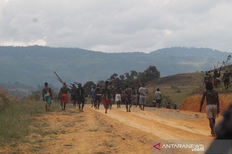 Dua kelompok perang di Jayawijaya sepakat damai