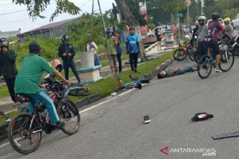 Pesepeda di Pekanbaru tewas diseruduk Pajero ugal-ugalan