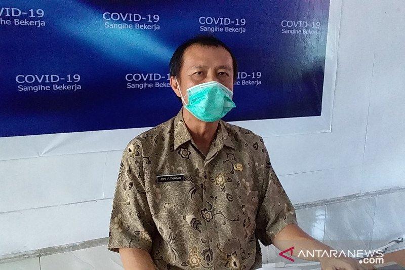 Kasus positif COVID-19 di Kabupaten Sangihe kembali bertambah