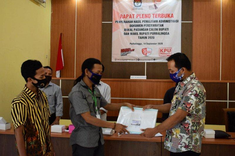 KPU Purbalingga: Bapaslon bupati dan wakil bupati penuhi syarat