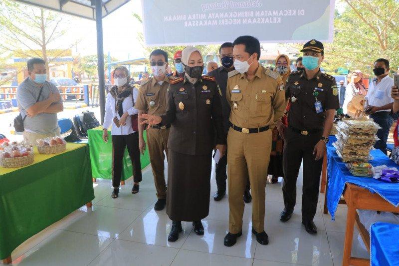 Kejari Makassar validasi data Koperasi-UMKM penerima bantuan dana bergulir