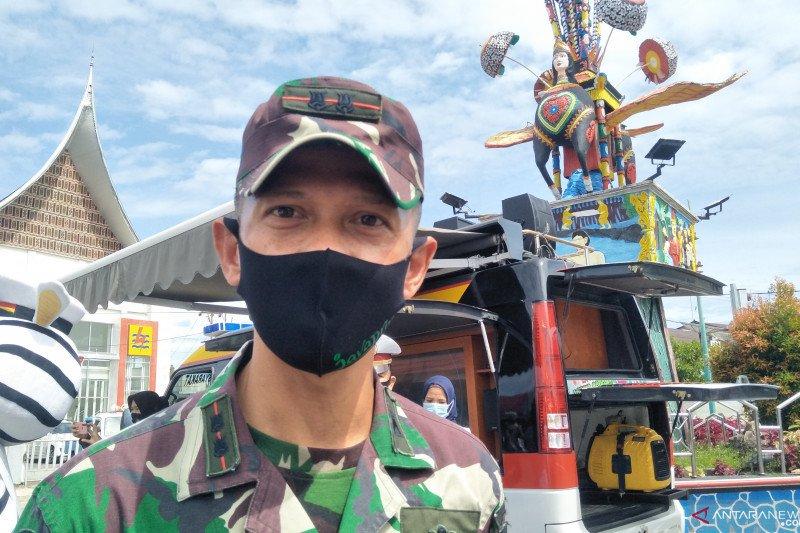Kodim Pariaman rangkul pemerintah nagari dan tokoh adat edukasi warga gunakan masker