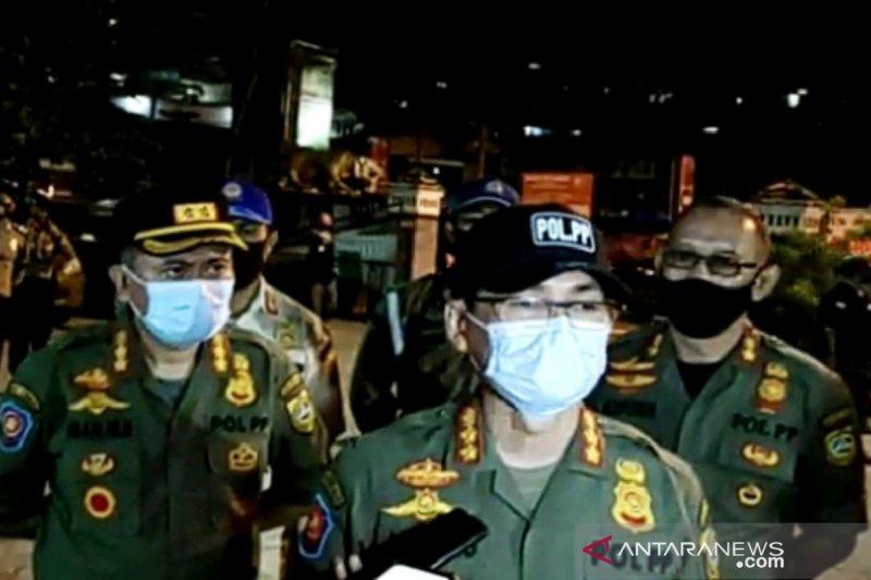 Satpol PP Kabupaten Bogor klaim penertiban PSBB di Puncak berjalan sukses