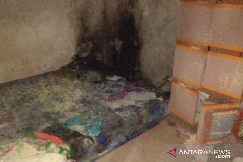 Tabung gas bocor tiga warga luka bakar
