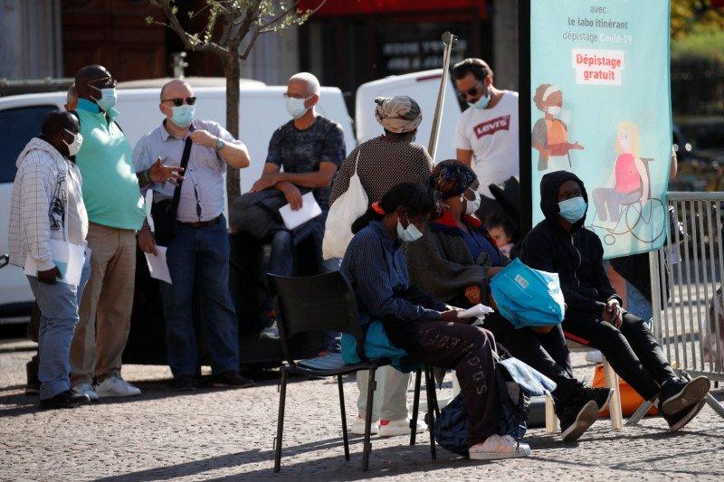 10.569 kasus tambahan COVID-19 terjadi di Prancis