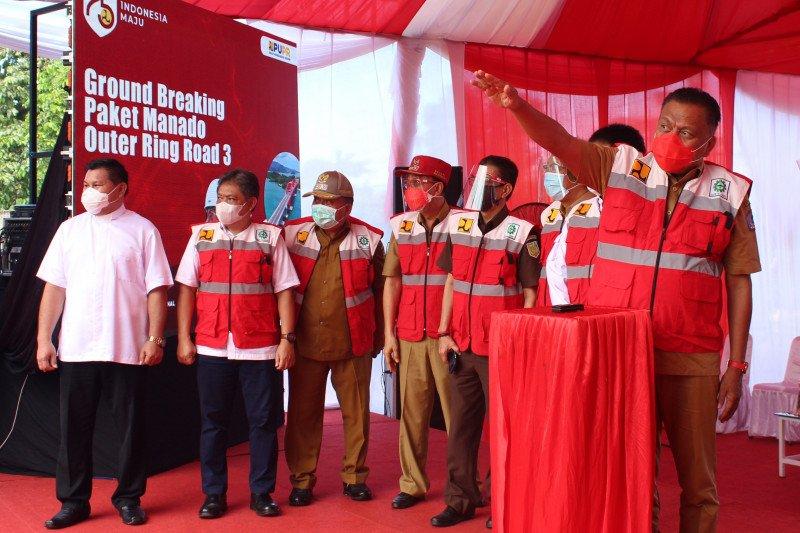Gubernur: Pembangunan MORR III solusi atasi kemacetan Manado