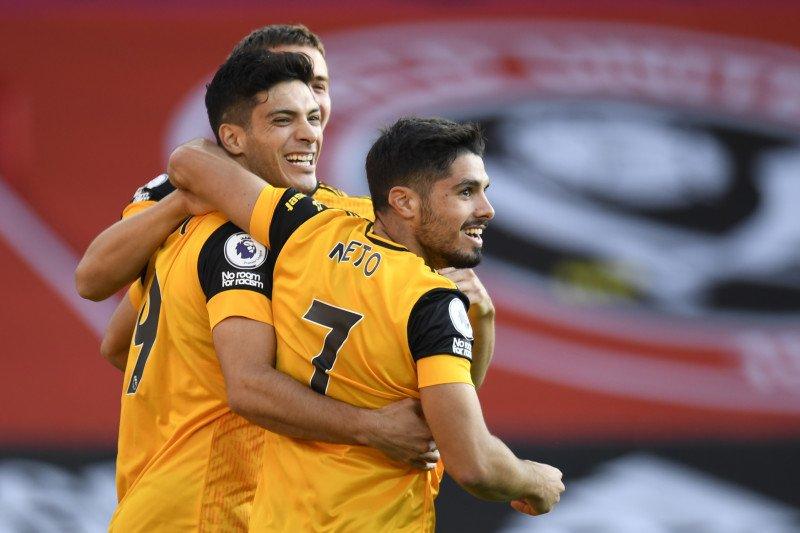 Dua gol cepat antarkan Wolves tundukkan Sheffield 2-0