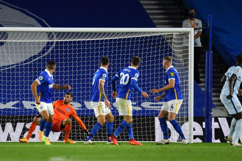 Chelsea mencatat kemenangan 3-1 atas Brighton