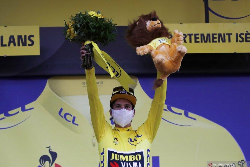 Berikut klasemen sementara Tour de France setelah etape ke-16