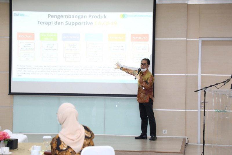 MPR kunjungi Bio Farma Bandung beri dukungan produksi Vaksin COVID-19
