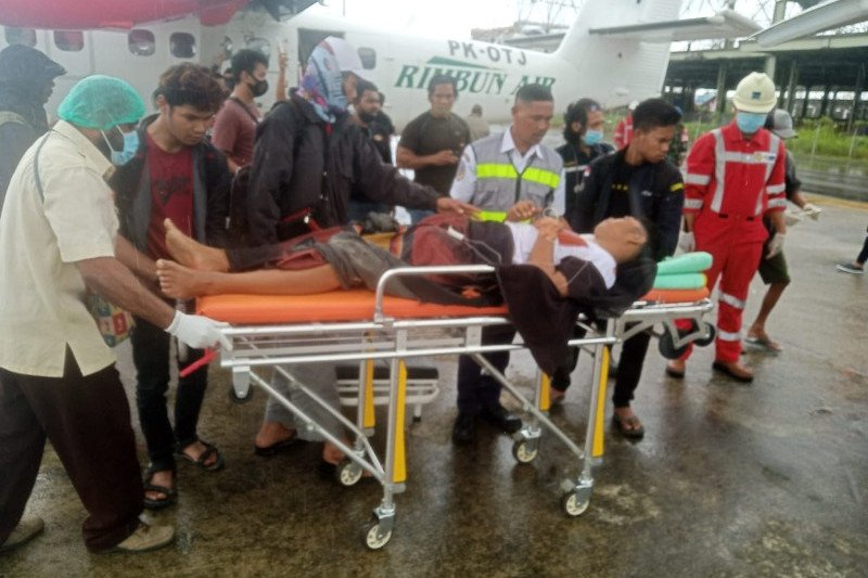 Polda Papua : Dua tukang ojek korban penembakan KKB di Sugapa dirawat di Timika