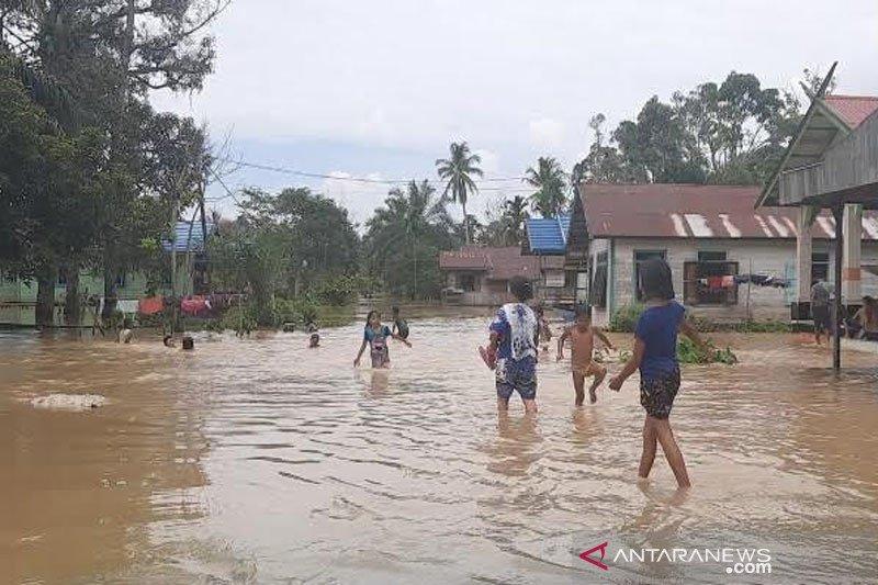 1.000 lebih rumah di Gunung Mas terendam banjir