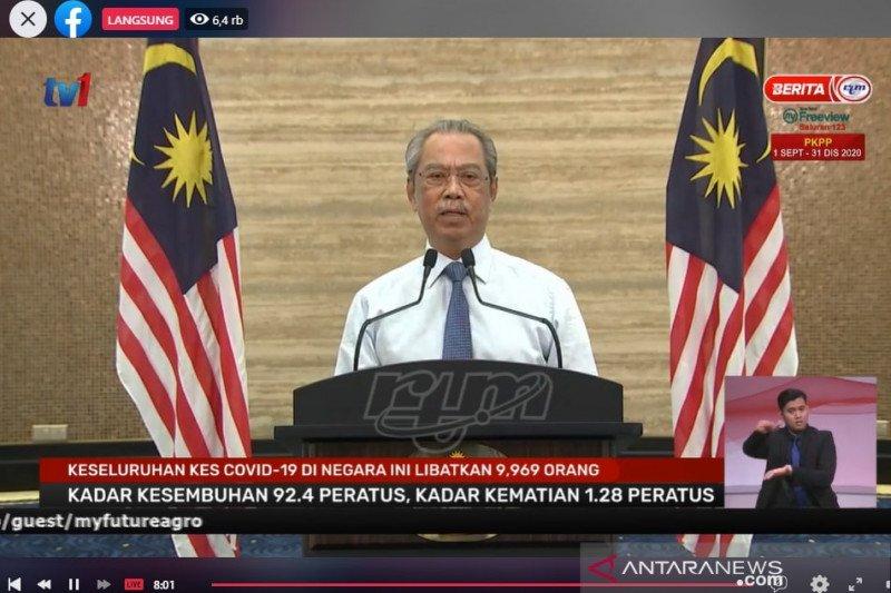 Muhyiddin Yassin masih bimbang dengan COVID-19 di Malaysia
