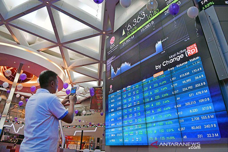 IHSG BEI ditutup menguat di tengah aksi jual investor asing