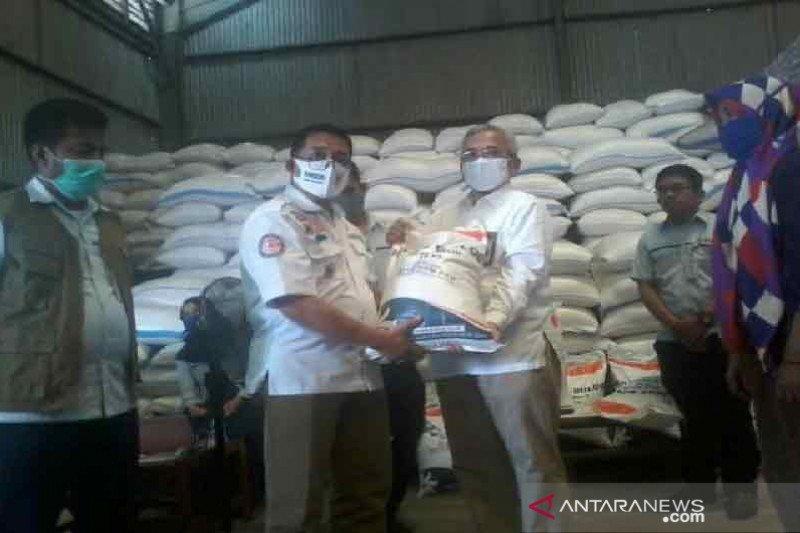 Pemkot Palu  salurkan bansos beras untuk PKH