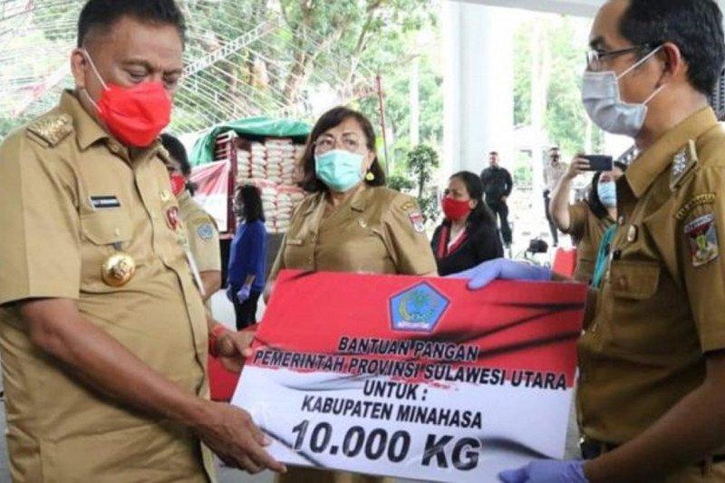 Pemprov Sulut menyalurkan 60 ton beras bagi warga terdampak COVID-19