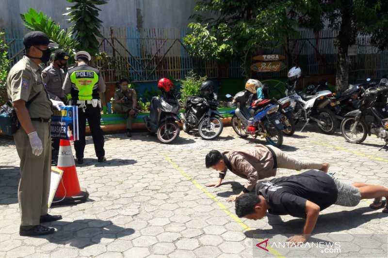 Pelanggar protokol kesehatan di  Temanggung dikenai sanksi sosial