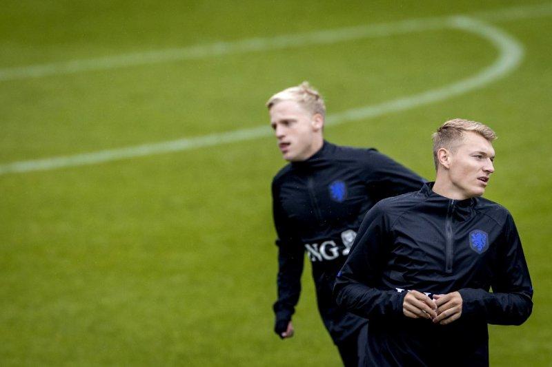 Van de Beek melihat masa depan cemerlang di United