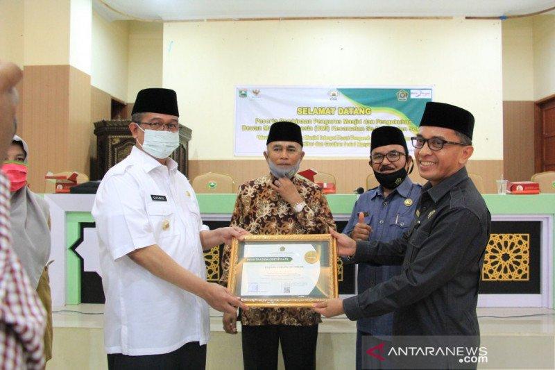 Ini harapan Pemkab Solok berharap pengurus DMI kecamatan se-Kabupaten Solok