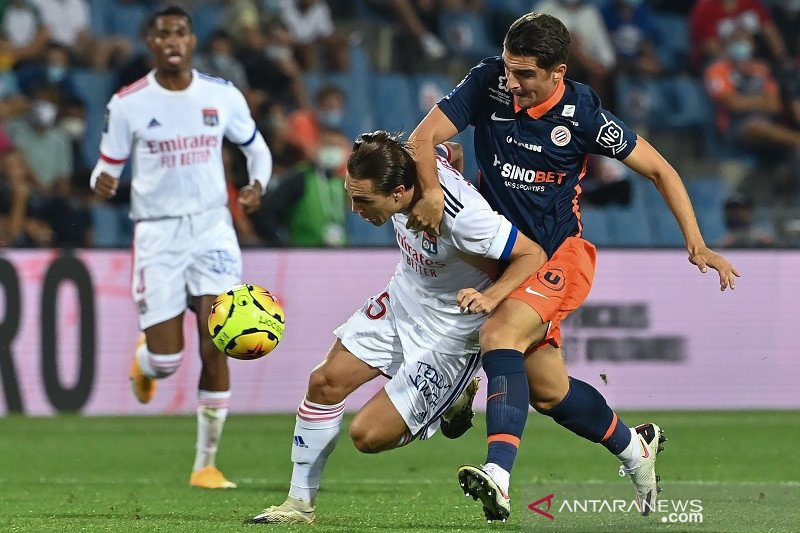 Olympique Lyon takluk 1-2  di kandang Montpellier