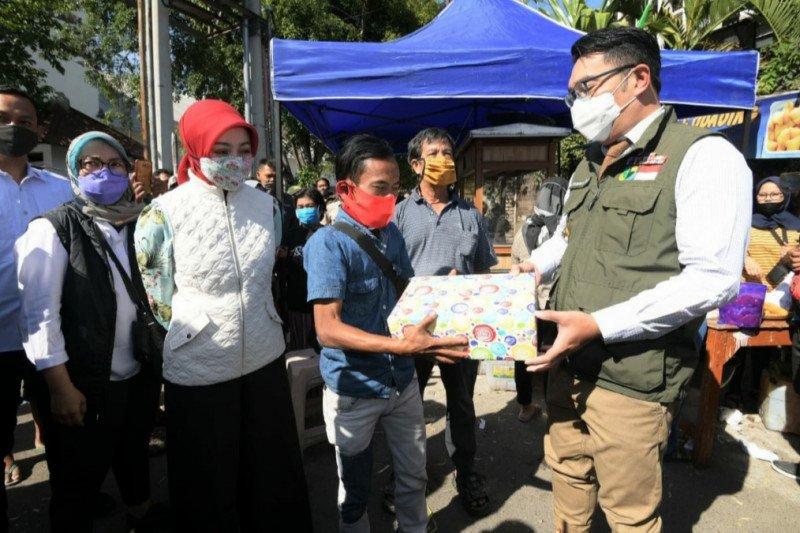 Gubernur Ridwan Kamil gandeng Ade Londok