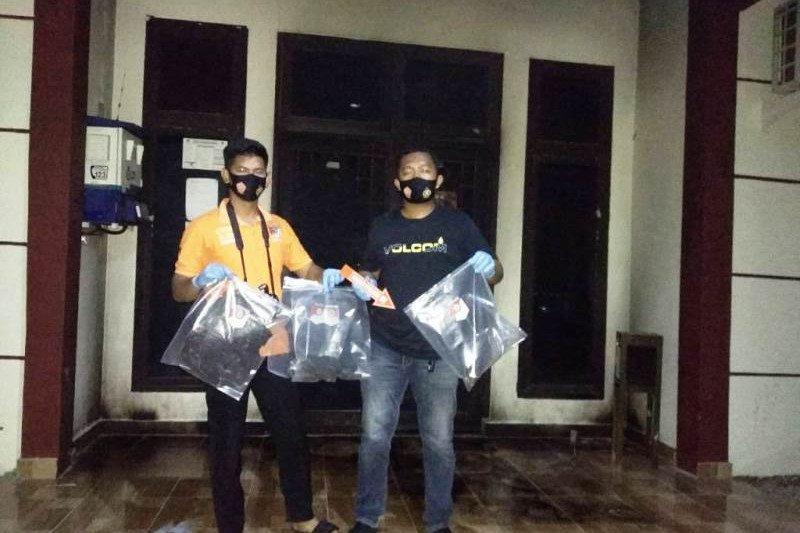 Polres Pasangkayu Sulbar tangkap pelaku percobaan pembakaran Kantor DKP