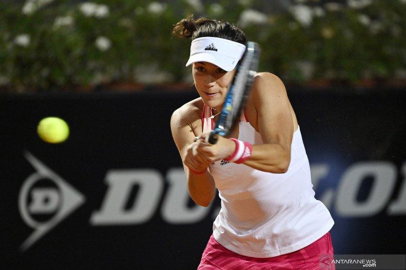 Muguruza melaju, Kerber tersingkir di putaran pertama Italy Open