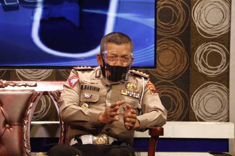 Dirlantas Polda Papua imbau warga gunakan masker cegah penyebaran COVID-19
